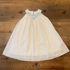 BabyGAP Toddler Girl's Sequin Neckline Dress, 4T